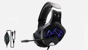 M6 Multi-function sound card headphones